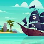 Pirates Cove - Mural Example