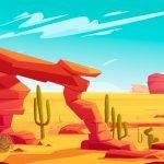 Desert - Landscape Mural Example