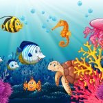 Under the Sea - Find Fish Mural Example