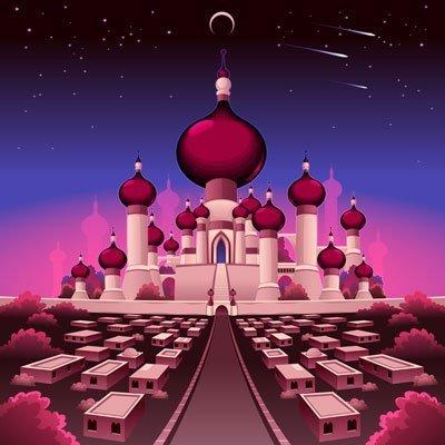Kingdom of Imagination - Castle Mural Example