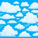 Into the Clouds - Cloud Mural Example