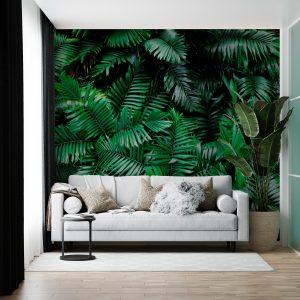 Rainforest Ferns Wall Mural